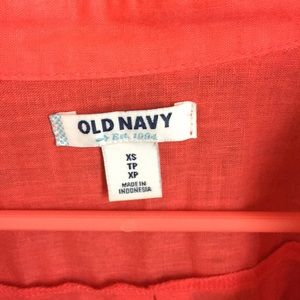 Old Navy Tops - XS Old Navy casual coral top